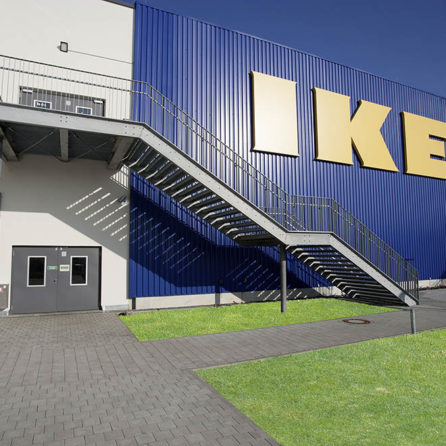 LUV Shopping Center IKEA Mall in Lübeck am 7. November 2014
