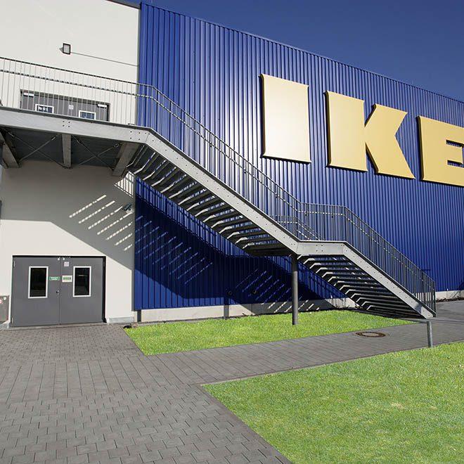 LUV Shopping Center IKEA Mall in Lübeck am 7. November 2014