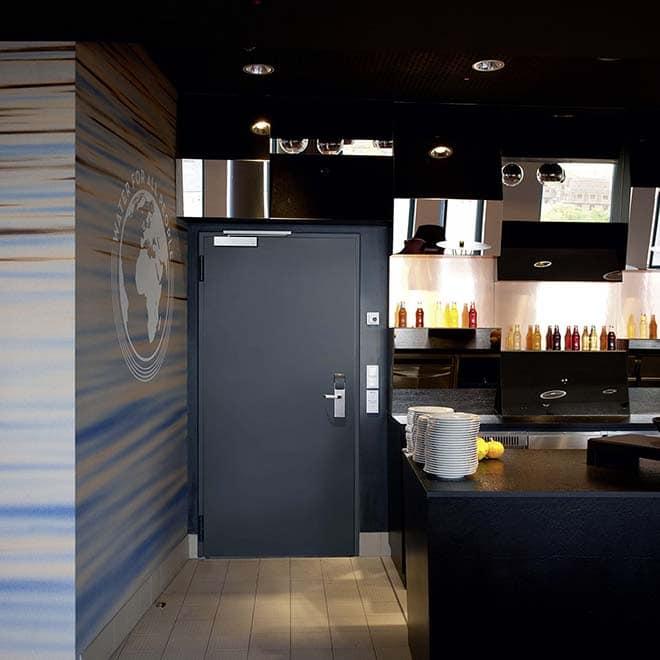Scandic Hotel Emporio in Hamburg am 8. Oktober 2014