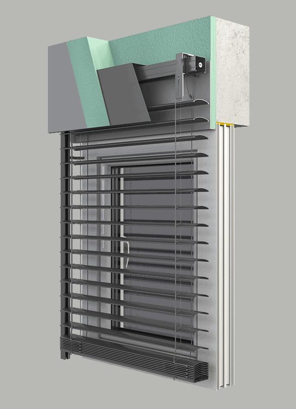 Einstellbare Rollladen SK 45
